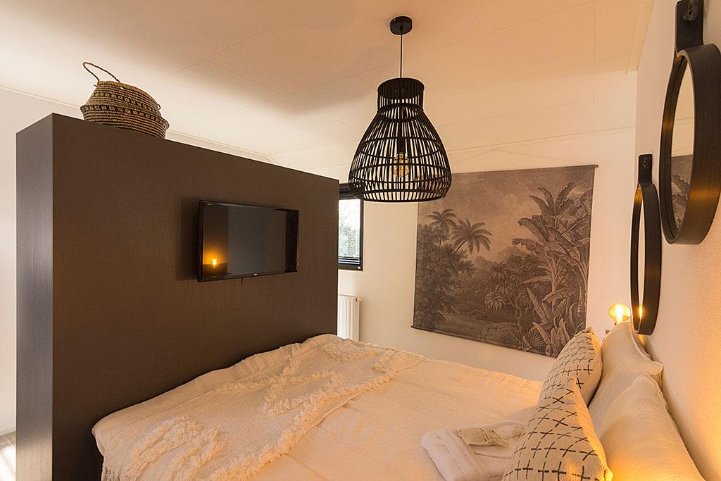 Slaapkamer Wellness Lodge Droomparken de Zanding